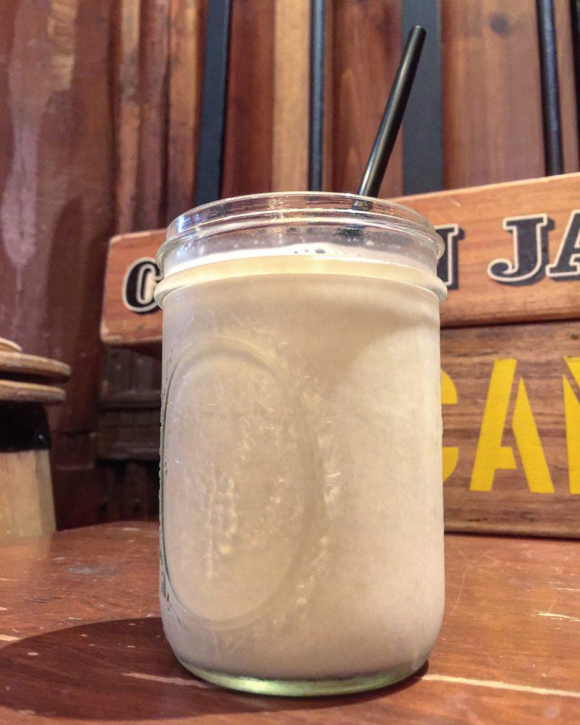 Vegan Milkshake at Whispering Canyon Cafe at Walt Disney World