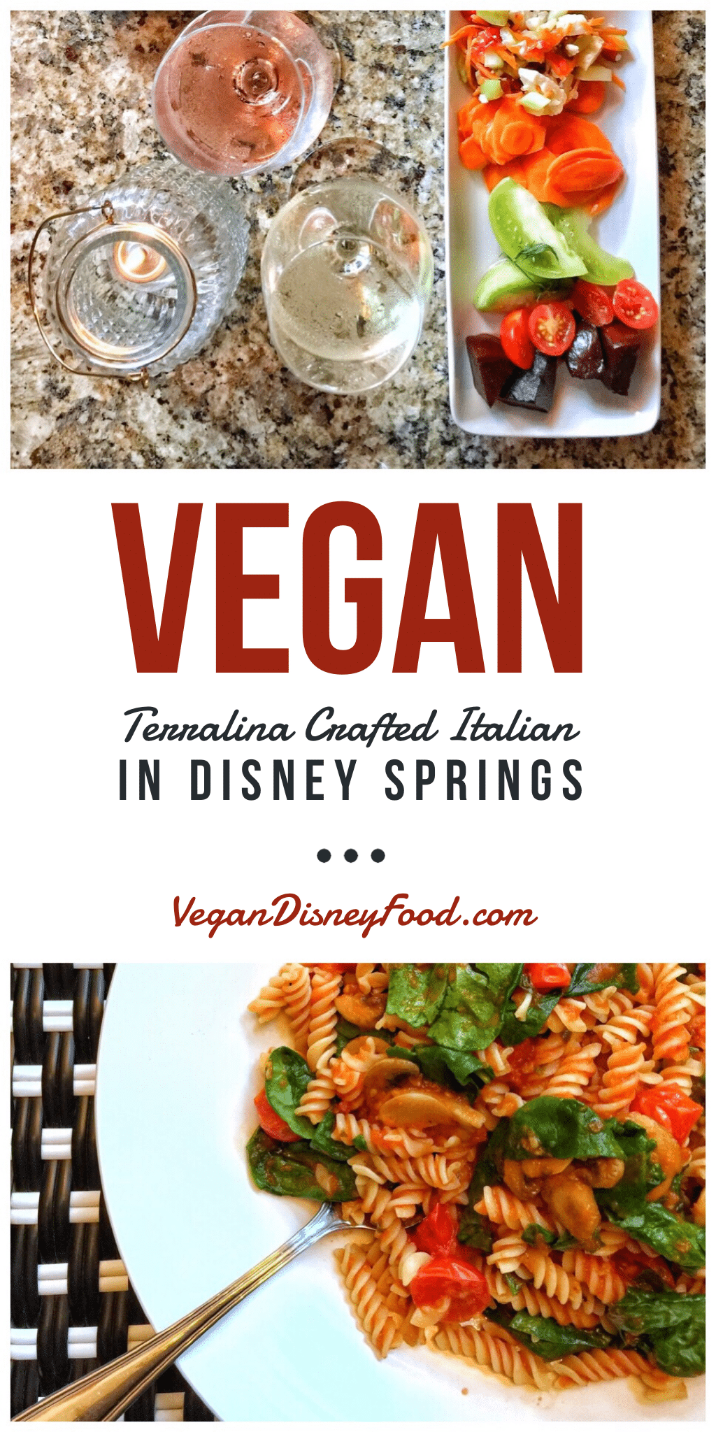 Vegan Food Review: Terralina Crafted Italian in Disney Springs at Walt Disney World