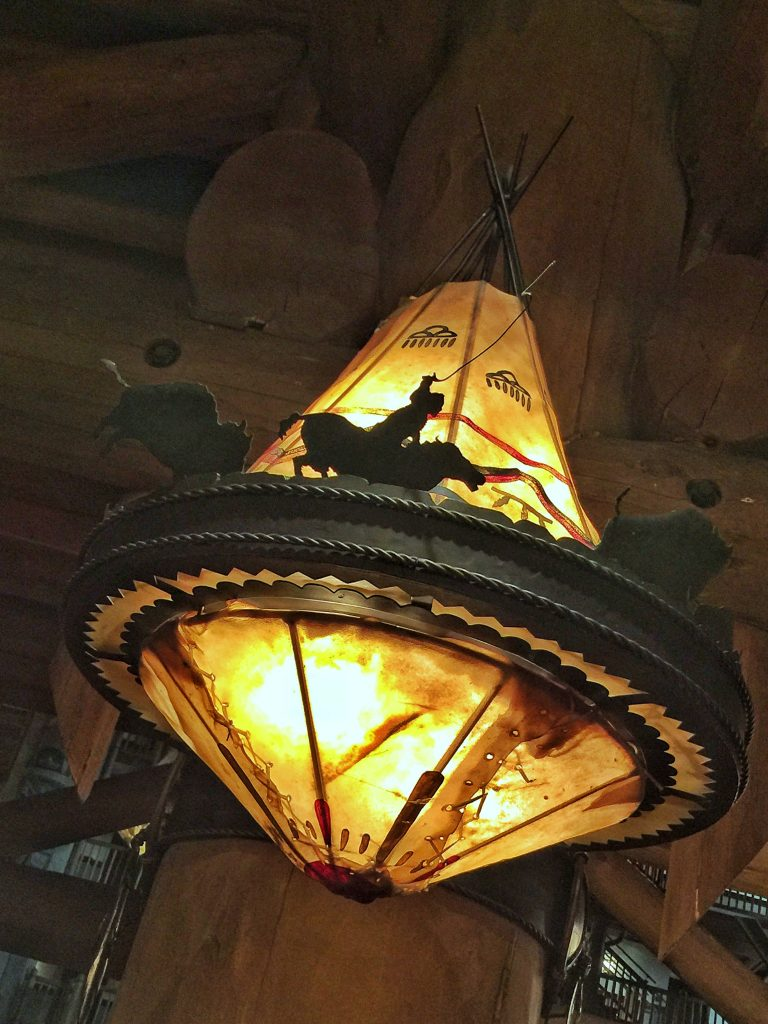 Whispering Canyaon Cafe in Disney's Wilderness Lodge Resort at Walt Disney World