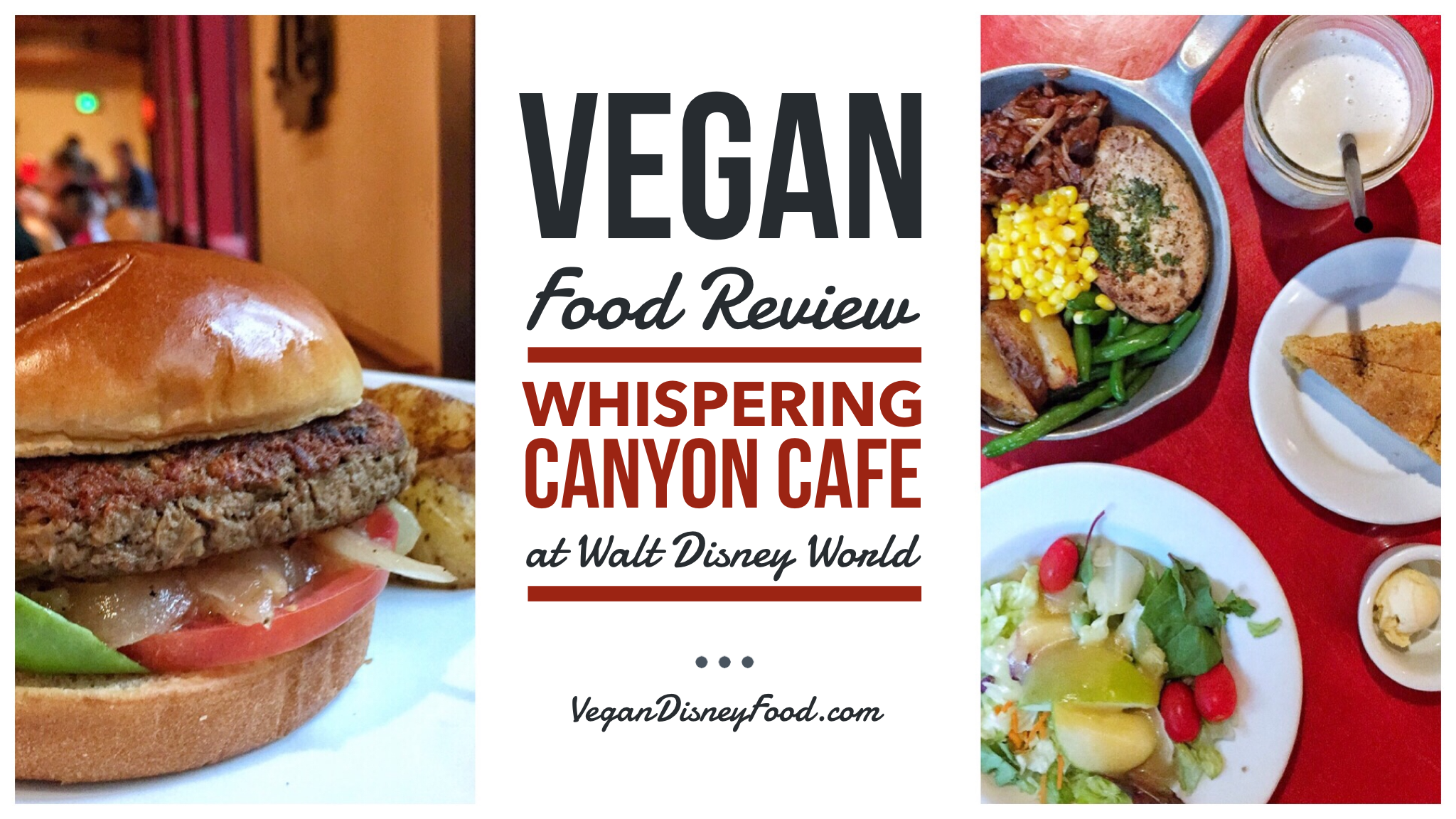Vegan Food Review: Whispering Canyon Cafe at Walt Disney World