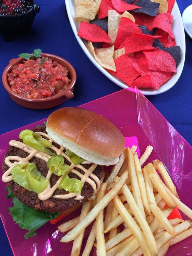 H2O Glow Nights at Typhoon Lagoon - Vegan Impossible Burger