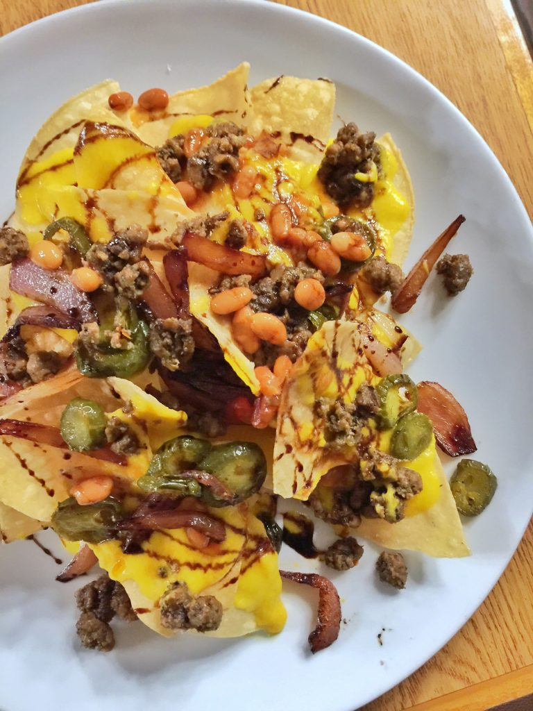 An Epic Vegan Food Review: Trail's End Restaurant Dinner at Disney's Fort Wilderness Resort and Campground with Chef TJ - Nachos