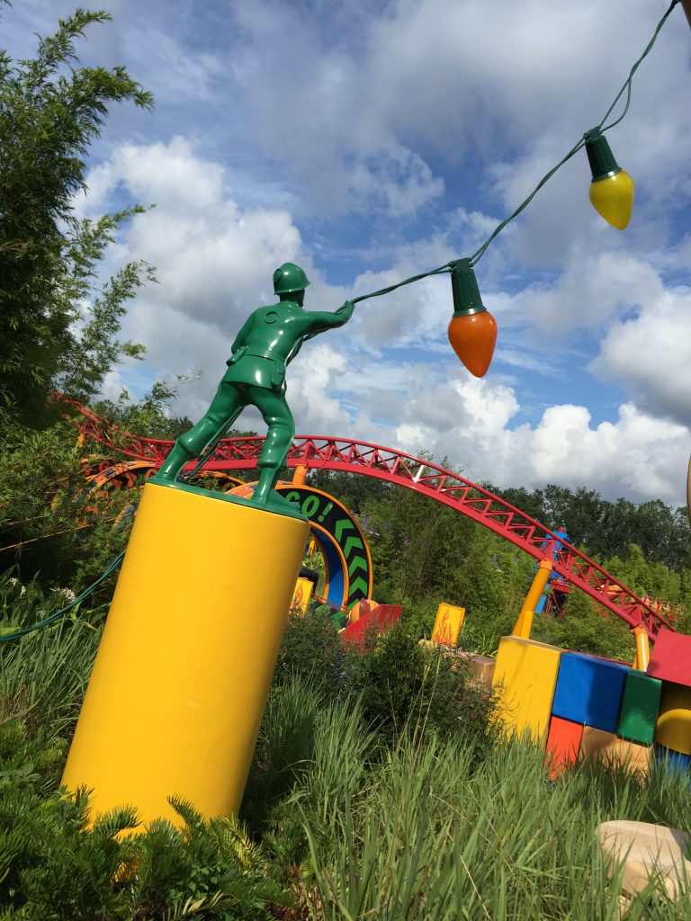 Slinky Dog Dash Coaster in Walt Disney World's Toy Story Land