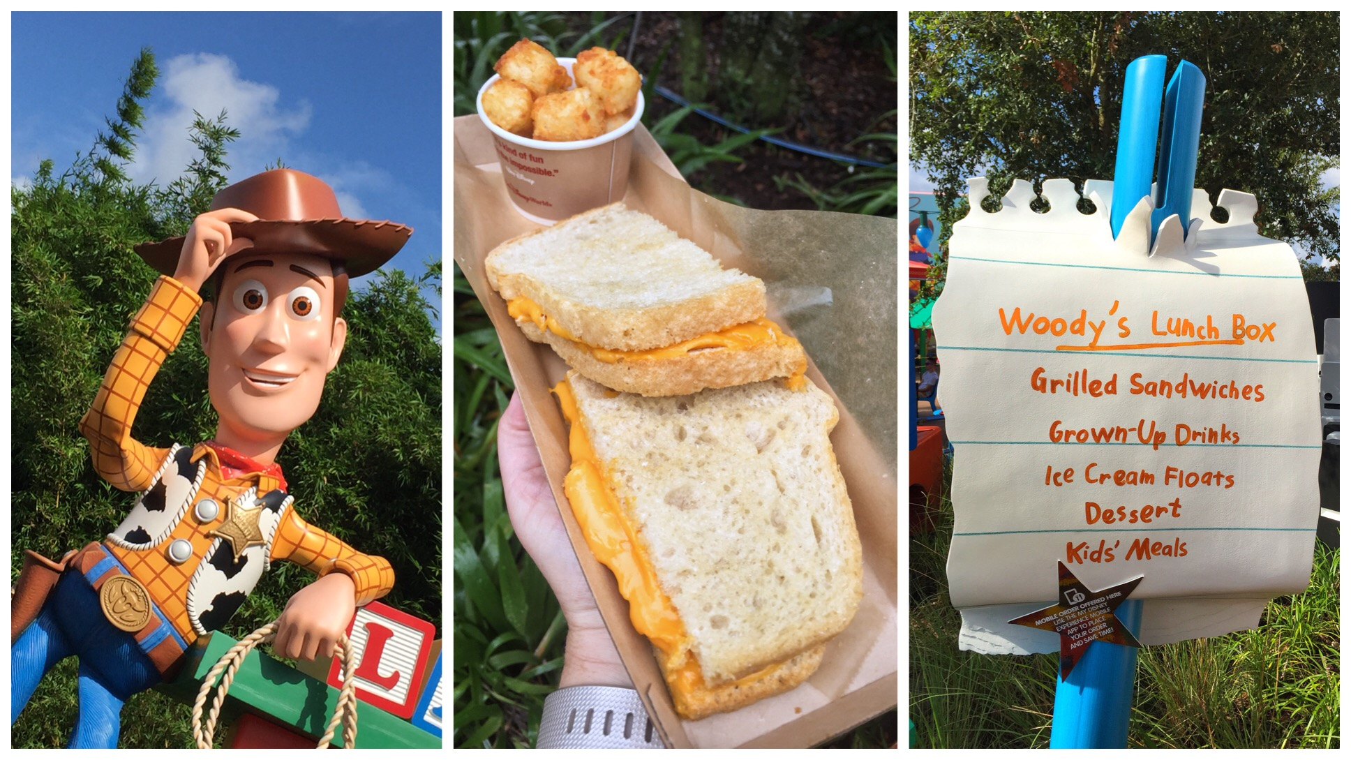 Vegan Food at Woody's Lunch Box in Walt Disney World's Toy Story Land