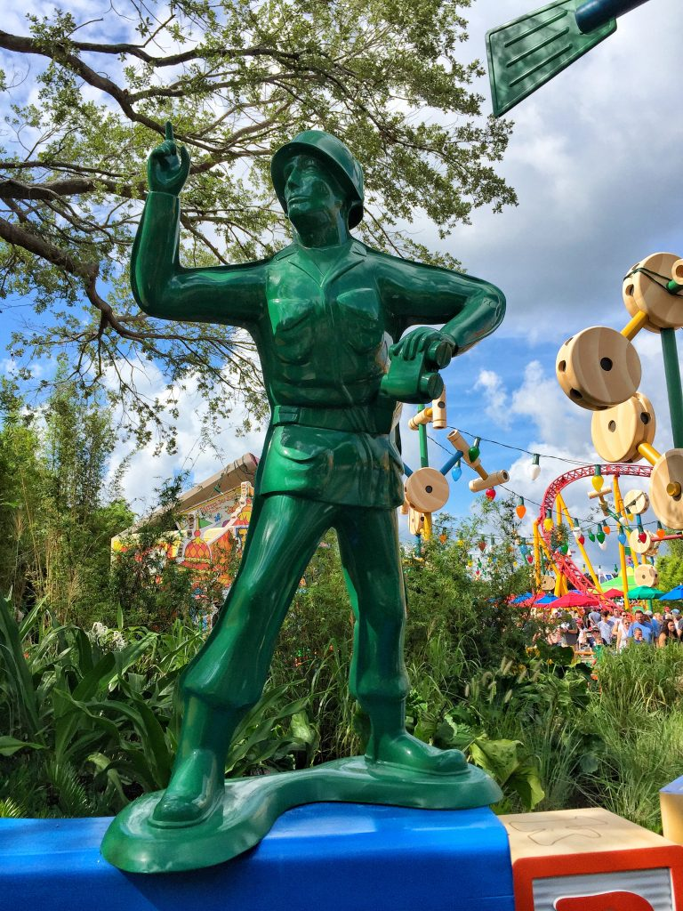 Toy Story Land in Disney's Hollywood Studios at the Walt Disney World Resort