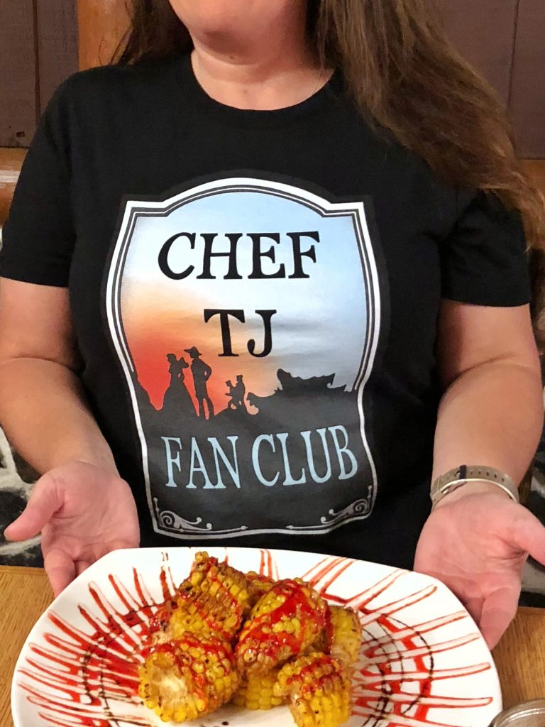 Disney's Chef TJ Fan Club Tee Shirt
