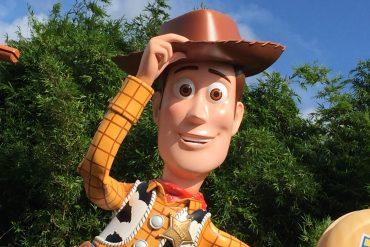 Cowboy Woody in Walt Disney World's Toy Story Land