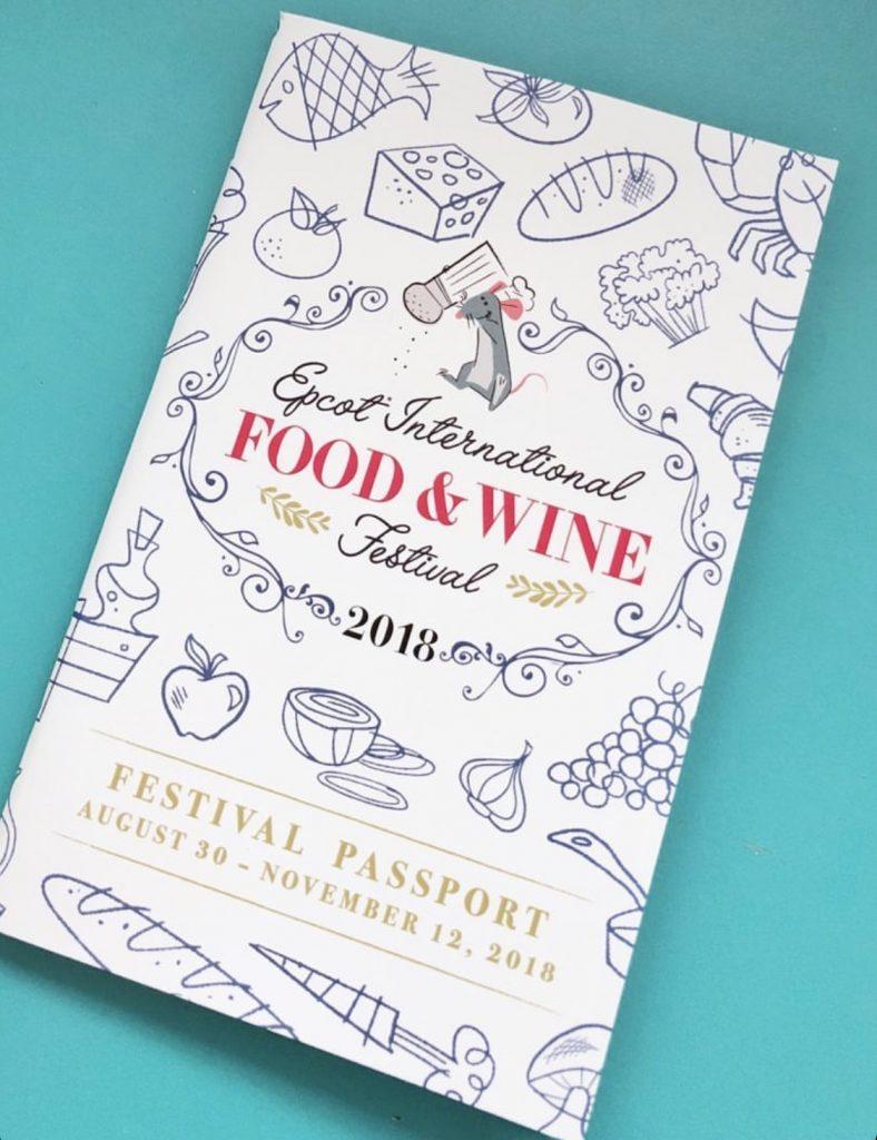 2018 Epcot International Food and Wine Festival in Walt Disney World