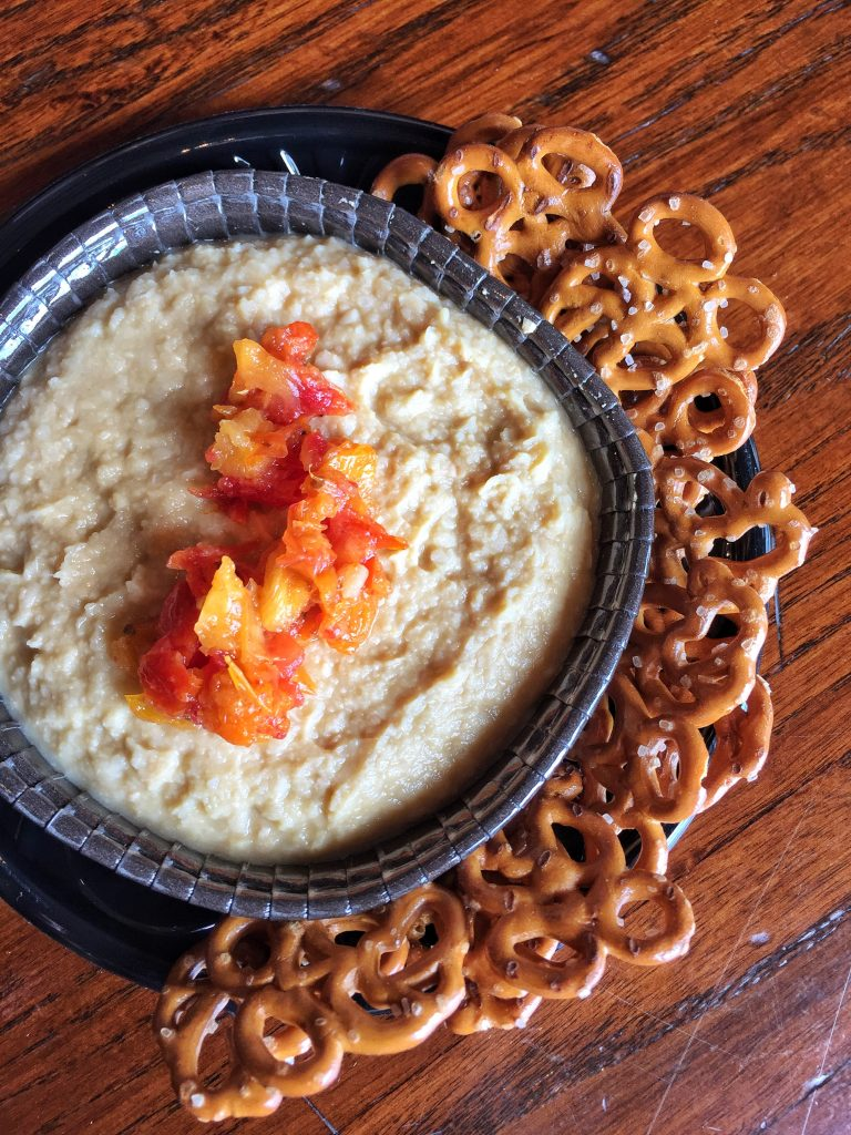 Fire Roasted Tomato Hummus at the Epcot International Food and Wine Festival in Walt Disney World