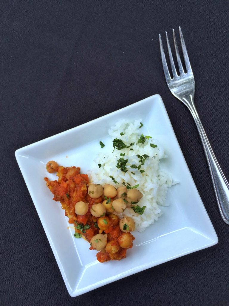 Vegan Madras Red Curry at the Epcot International Food and Wine Festival in Walt Disney World