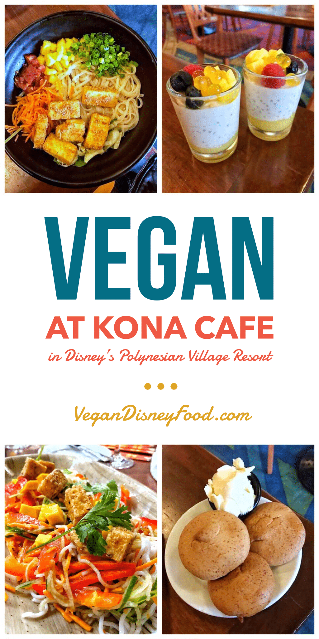 Vegan Options at Kona Cafe in Disney's Polynesian Village Resort at Walt Disney World