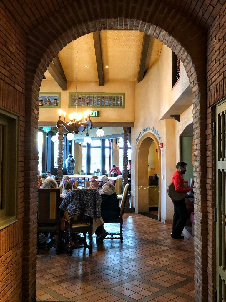 Vegan Disney Food Review: La Hacienda de San Angel in Epcot's Mexico Pavilion