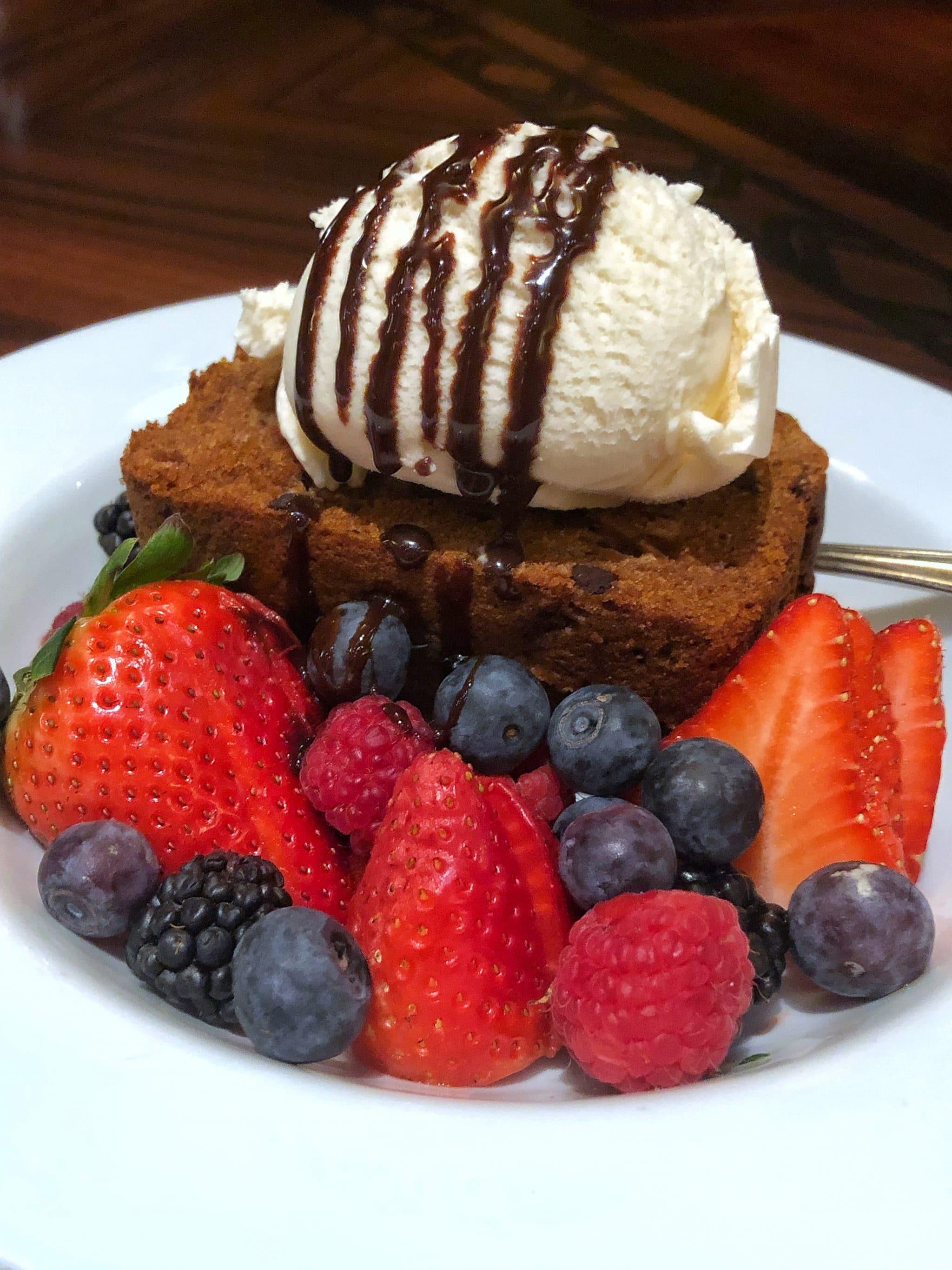 Vegan Disney Food Review of Dinner Service at 'Ohana in Disney's Polynesian Village Resort at Walt Disney World