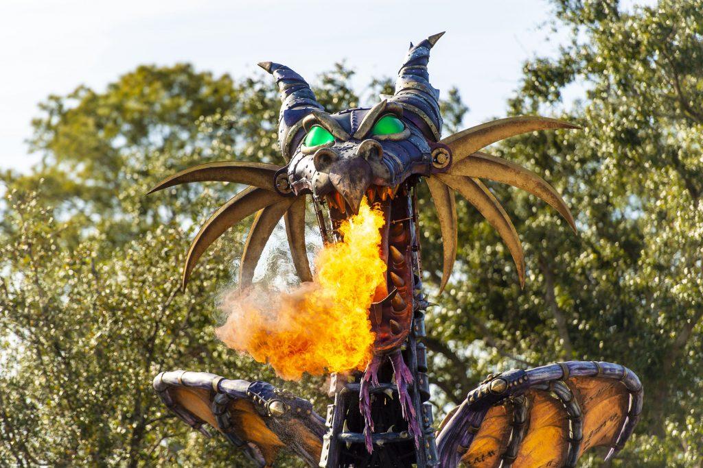 Disney Festival of Fantasy Parade Maleficent Float
