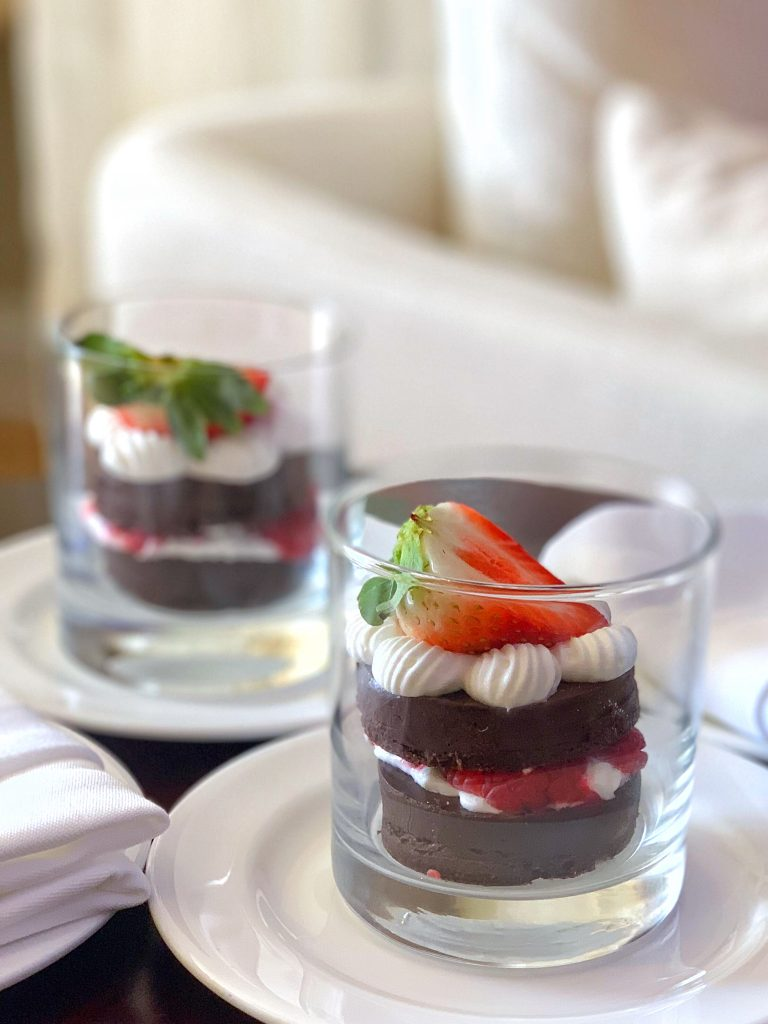 Vegan Disney Food Review: Lunch in the Waldorf Astoria Orlando Spa