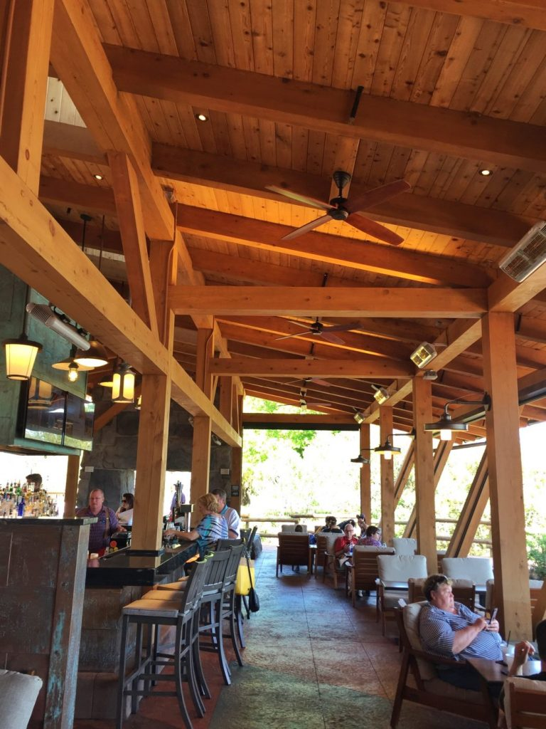 Vegan Disney Food Review: Geyser Point Bar & Grill at Disney's Wilderness Lodge