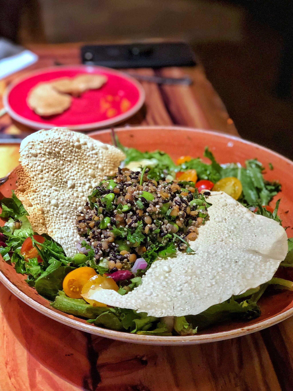 Review of the Vegan Food Options at Sanaa in Disney's Animal Kingdom Lodge Kidani Village at Walt Disney World