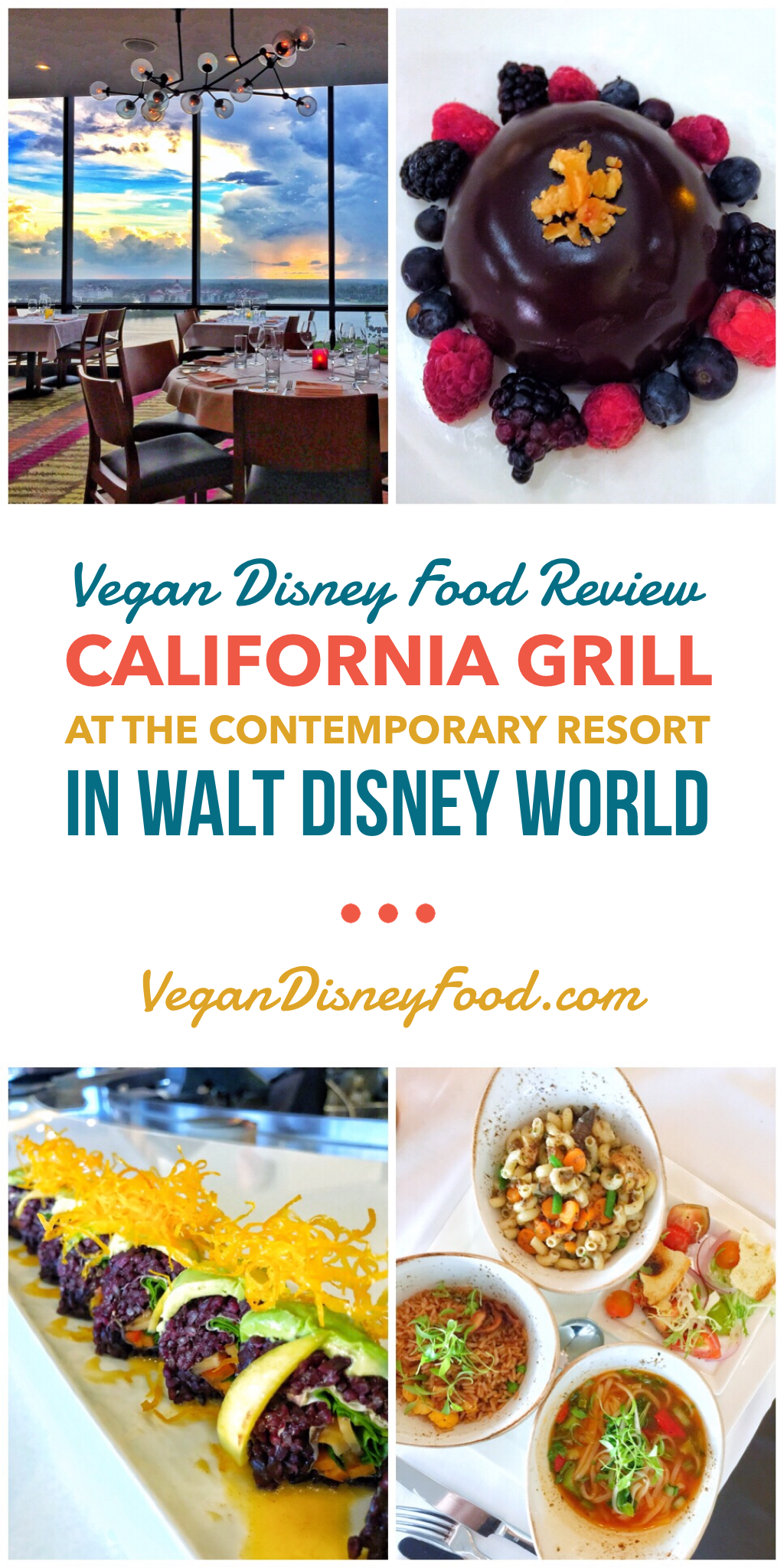 Vegan Disney Food Review: California Grill at the Contemporary Resort in Walt Disney World