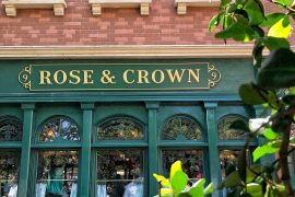 Vegan Disney Food Review: Rose & Crown Dining Room in the UK at Epcot