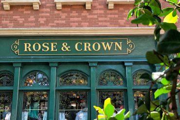 Vegan Disney Food Review: Rose & Crown Dining Room in the UK at Epcot