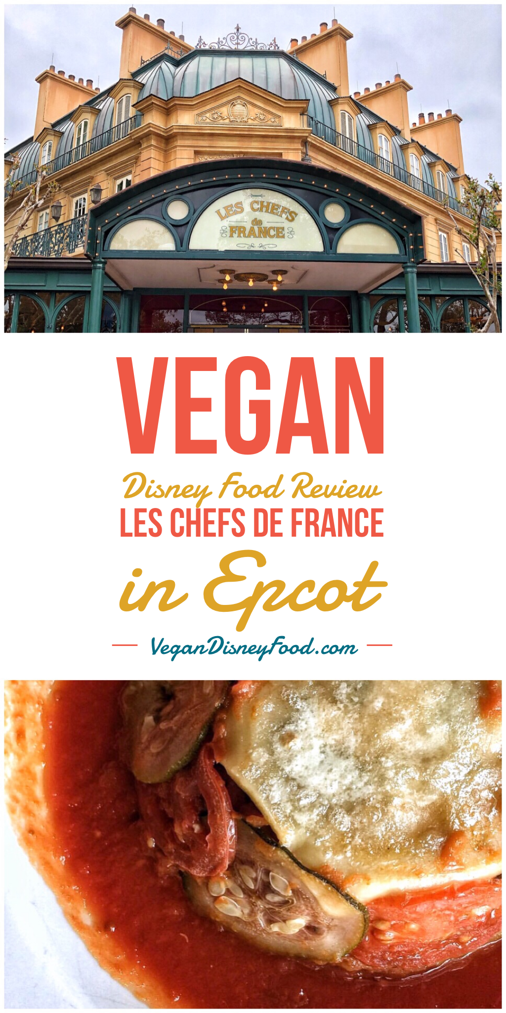 Vegan Disney Food Review: Lunch at Les Chefs de France in Epcot