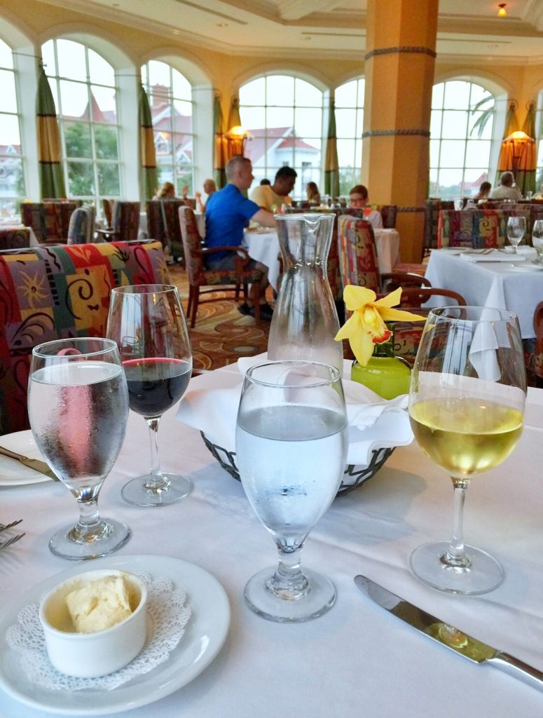 Vegan Disney Food Review: Dinner at Citricos in the Grand Floridian Resort