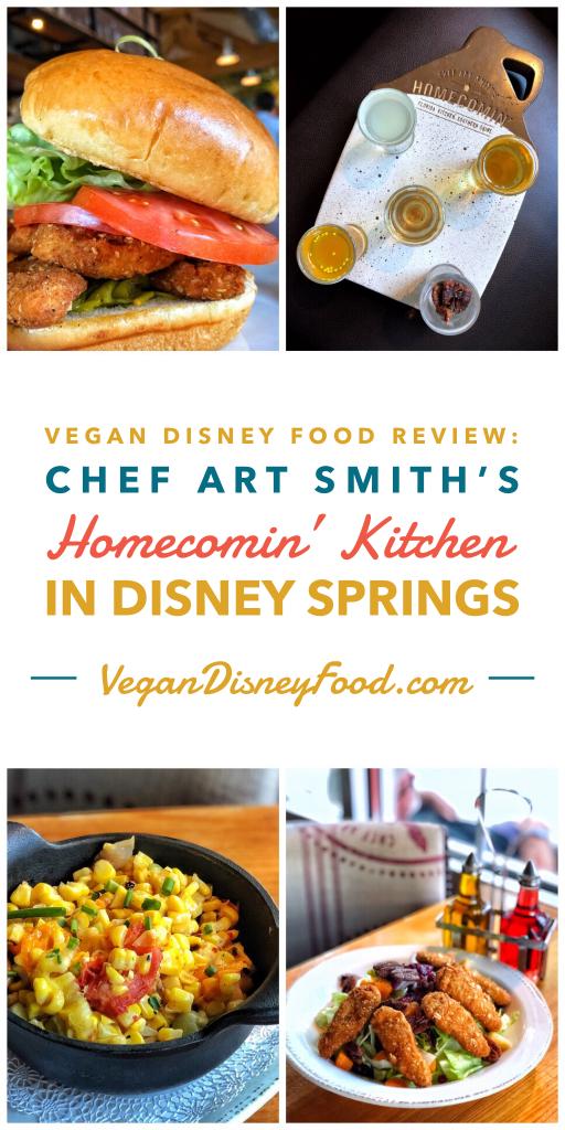 Vegan Disney Food Review: Chef Art Smith's Homecomin' Kitchen in Disney Springs