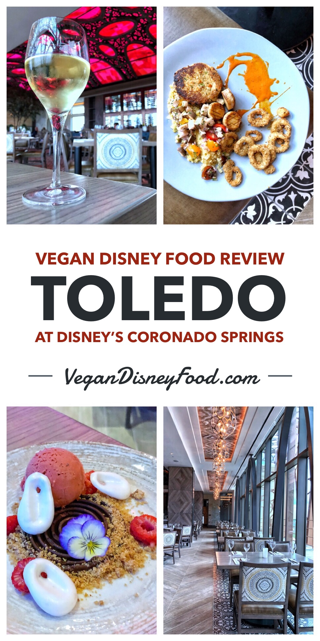 Vegan Disney Food Review: Toledo at Coronado Springs Gran Destino