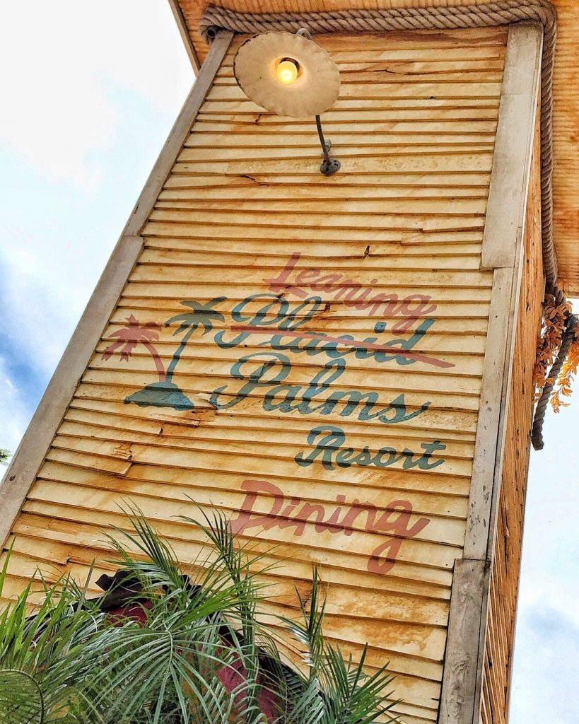 Vegan Disney Food Review: Leaning Palms at Disney's Blizzard Beach Water Park