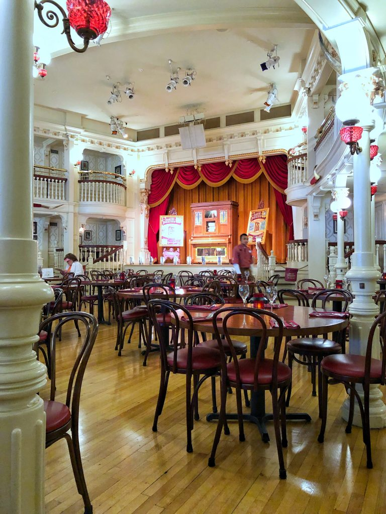 Vegan Disney Food Review: Lunch at The Diamond Horseshoe in Magic Kingdom