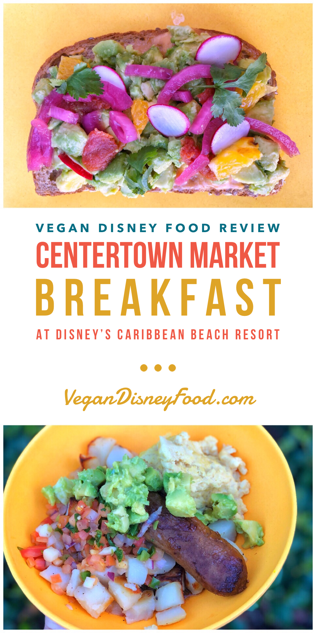 Vegan Disney Food Review: Centertown Market Breakfast at Disney's Caribbean Beach Resort