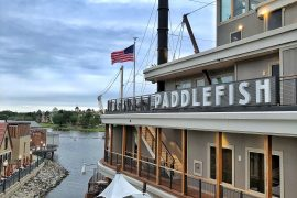 Vegan Disney Food Review: Dinner at Paddlefish In Disney Springs