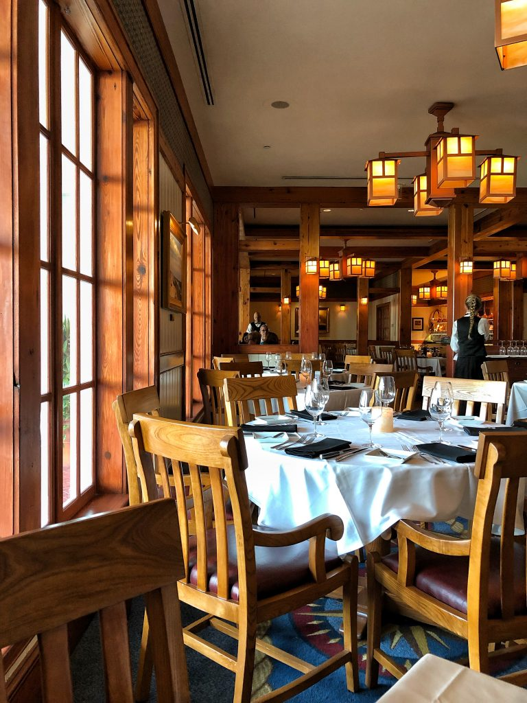 Vegan Disney Food Review: Yachtsman Steakhouse Dinner at Walt Disney World Resort