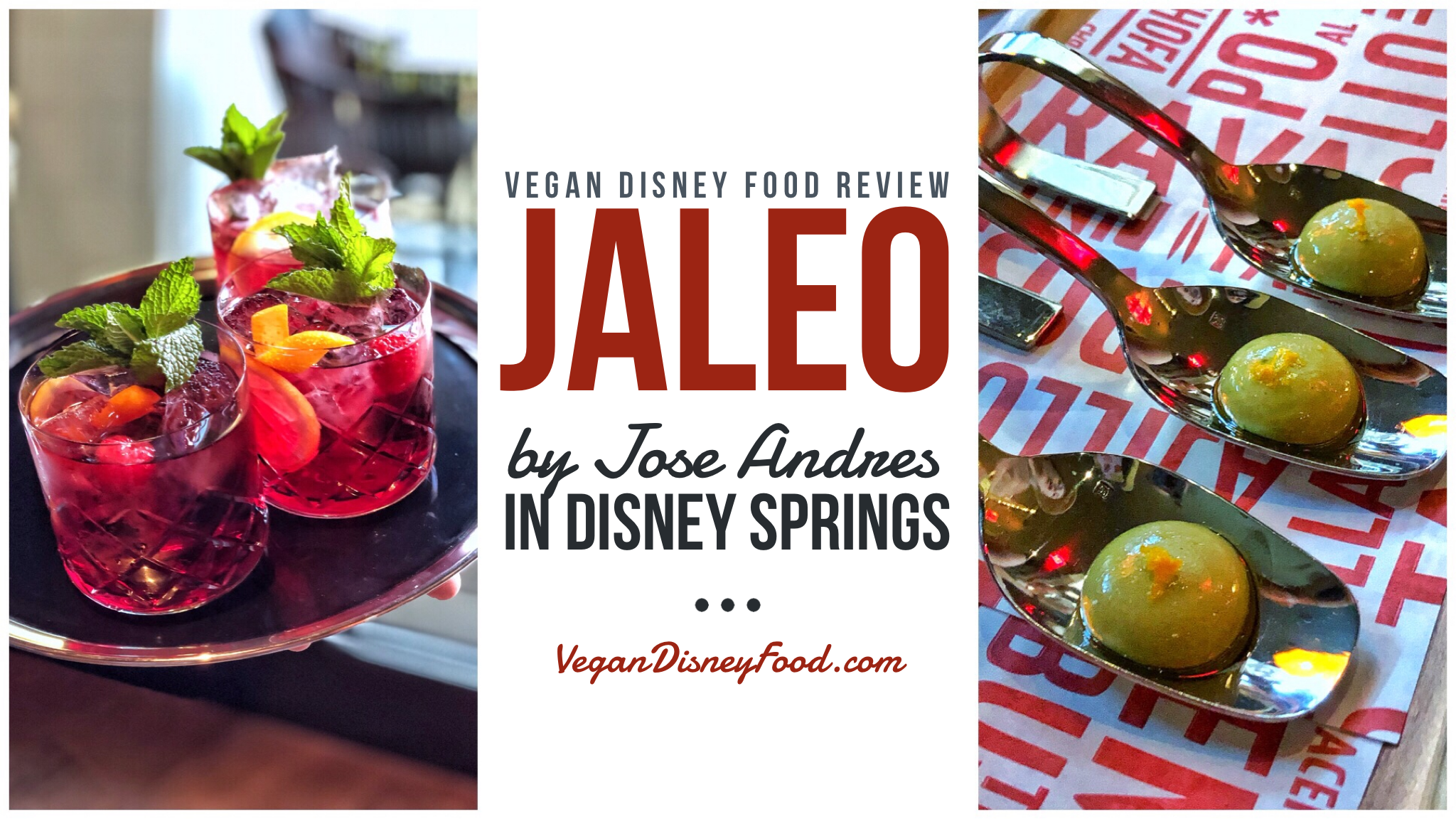 Vegan Disney Food Review: Jaleo by Jose Andres in Disney Springs