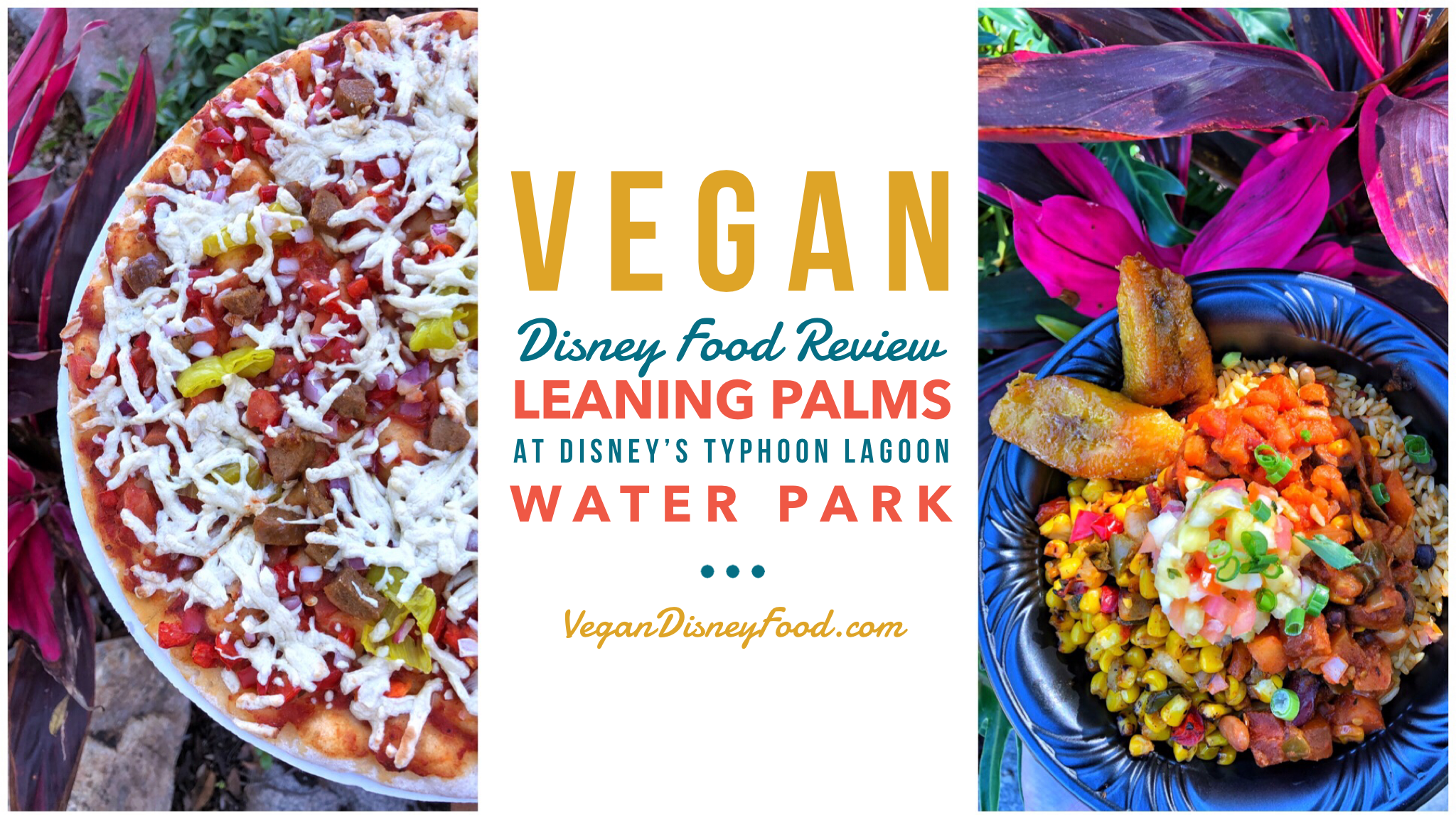 Vegan Disney Food Review: Leaning Palms at Disney's Typhoon Lagoon Water Park In Walt Disney World