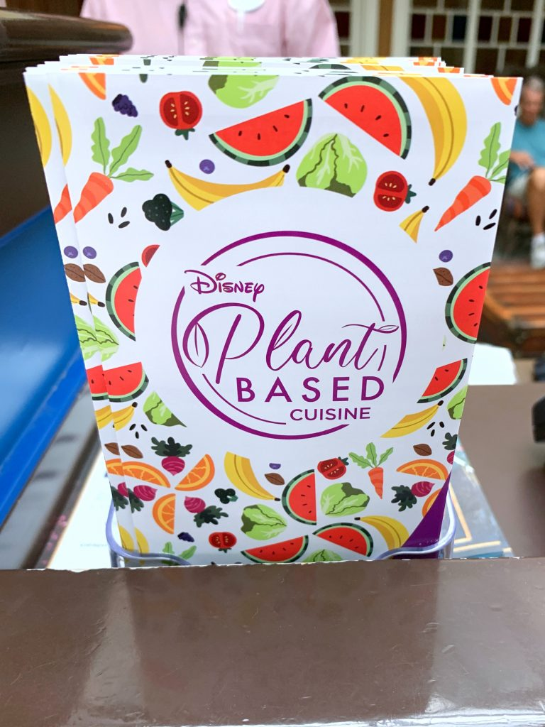 Disney Releases Official Plant Based Vegan Disney Food Guide Map
