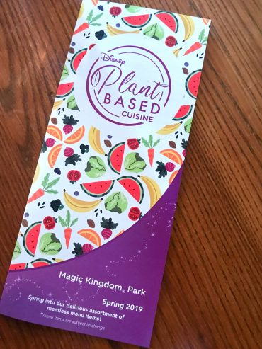 Disney Releases Official Plant Based Vegan Disney Food Guide Map