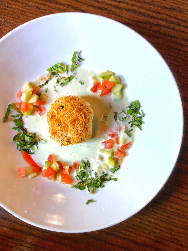 Plant-based Vegan Arancini at Mama Melrose's in Disney's Hollywood Studios