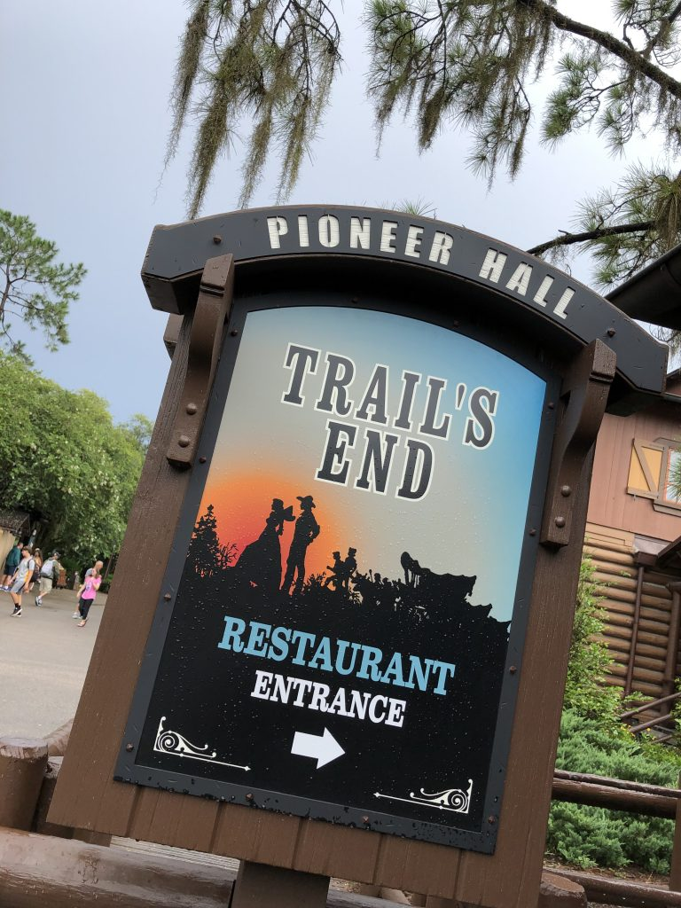 Vegan at Trails End restaurant at Disney's Ft Wilderness Resort and Campground {Without Chef TJ}