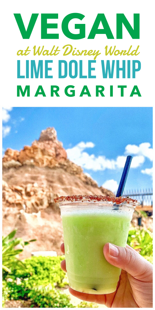Vegan at Walt Disney World - Lime Dole Whip Margarita at the Polynesian Village Resort