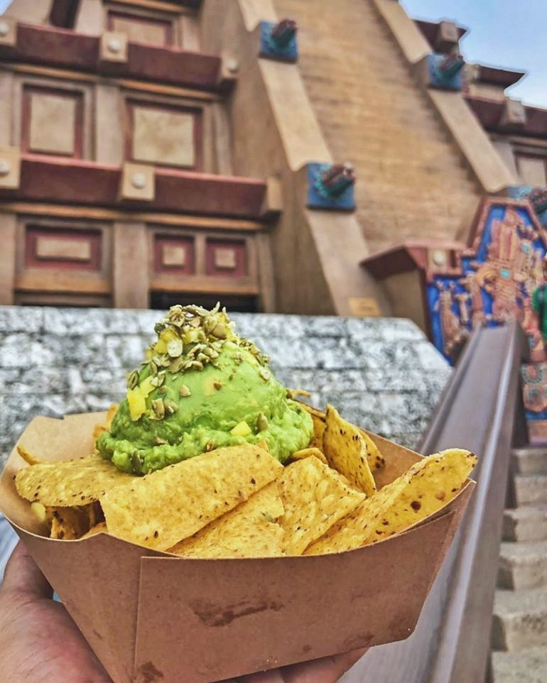 Vegan at Walt Disney World - Guacamole from Epcot's Choza de Margarita in the Mexico Pavilion