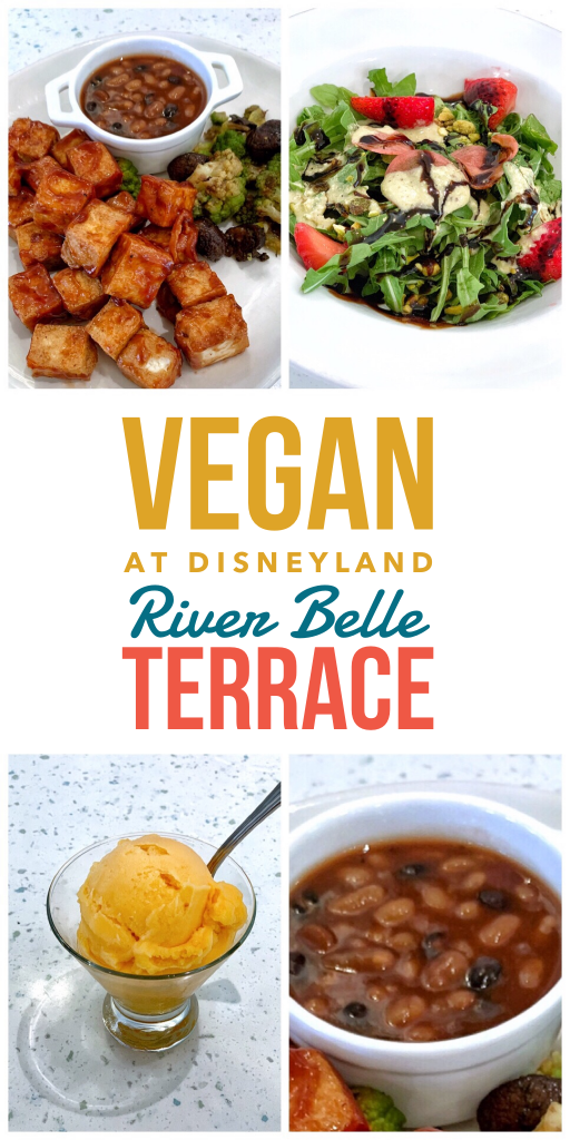 Vegan in Disneyland - River Belle Terrace Vegan Fantasmic Dining Package