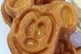 Vegan Walt Disney World - Vegan Mickey Waffles at Boma in Disney's Animal Kingdom Lodge