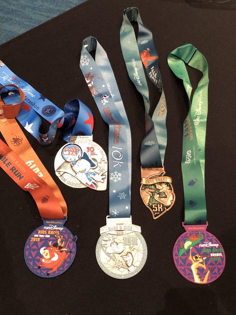 2019 runDisney Wine & Dine Race Medals Revealed