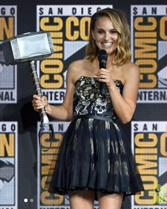 Disney News - MARVEL Female Vegan Superhero Mighty Thor Coming to MCU