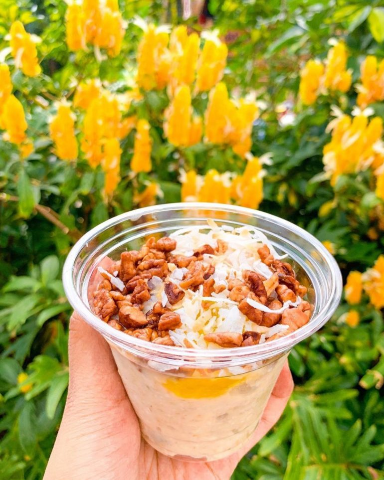 Vegan at Disneyland - Dole Whip Overnight Oats from Tropical Imports