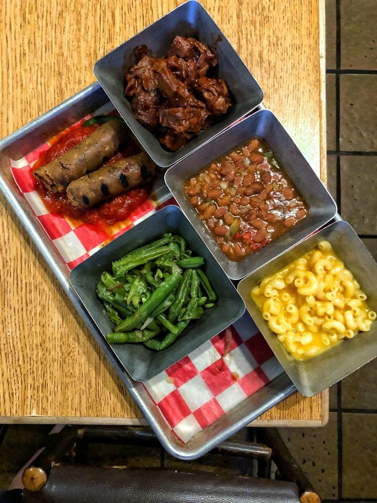 Vegan Dinner at Trails End at Disney's Ft Wilderness Resort and Campground without Chef TJ