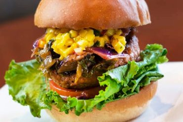 Vegan at Walt Disney World - Disney Springs D-Luxe Vegan Burger