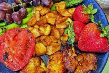 Vegan Walt Disney World - Breakfast Buffet Plate at Boma in Animal Kingdom Lodge