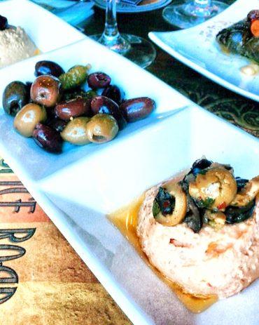 Vegan Walt Disney World - Epcot - Spice Road Table - Hummus and Olives